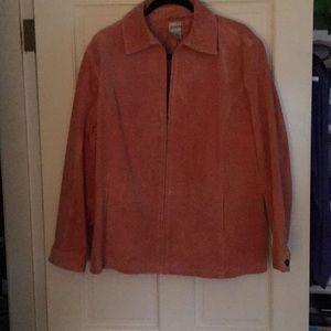 Chico's suade jacket